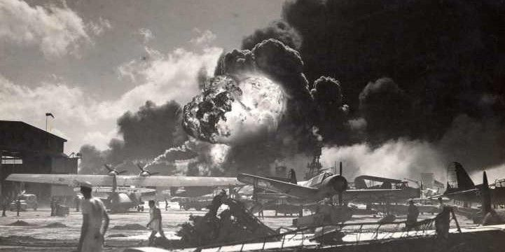 Old Pictures From a Brownie Camera of the Attack on Pearl Harbor in 1941-Fiction!