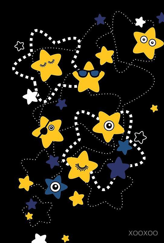 Dark Night Stars
