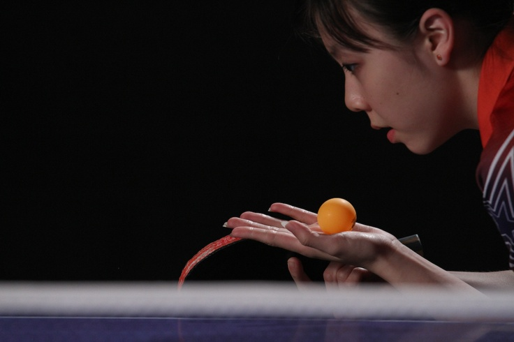 Ariel Hsing, 16-year-old table tennis phenom