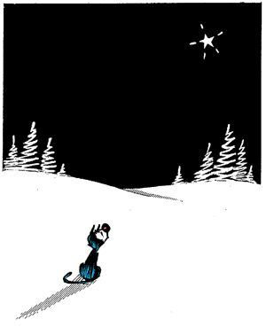 Mutts ~ Christmas Star ~ Patrick McDonnell