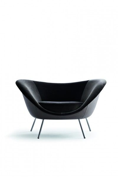 Armchair - Gio Ponti Official Store. Available on the official store: http://store.gioponti.org/en/furniture/198-airmchair.html #design #furniture #armchair #gioponti