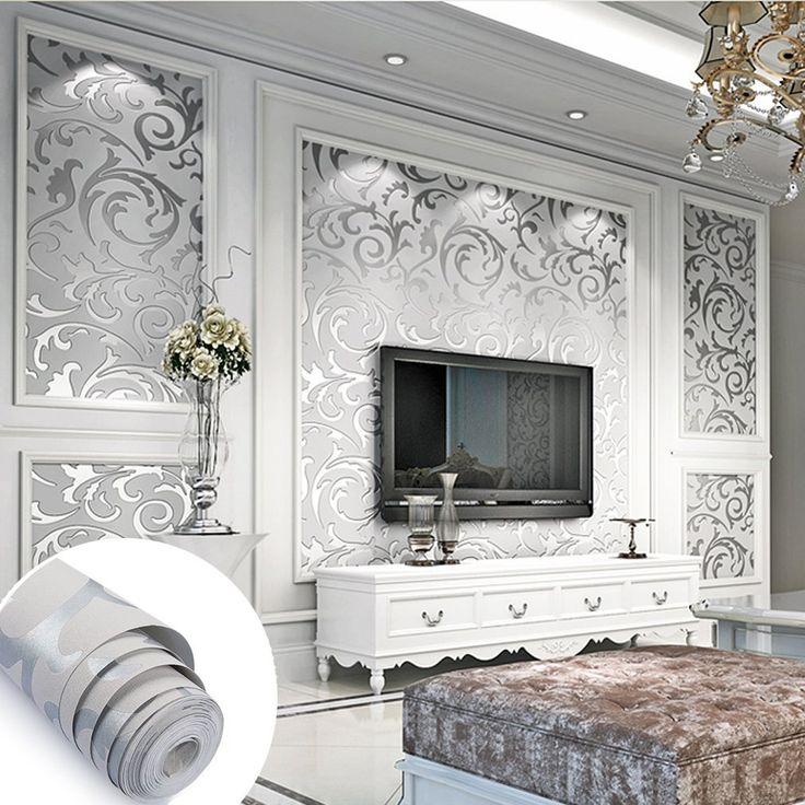Die besten 25+ Damast schlafzimmer Ideen auf Pinterest Damast - wohnzimmer grau silber