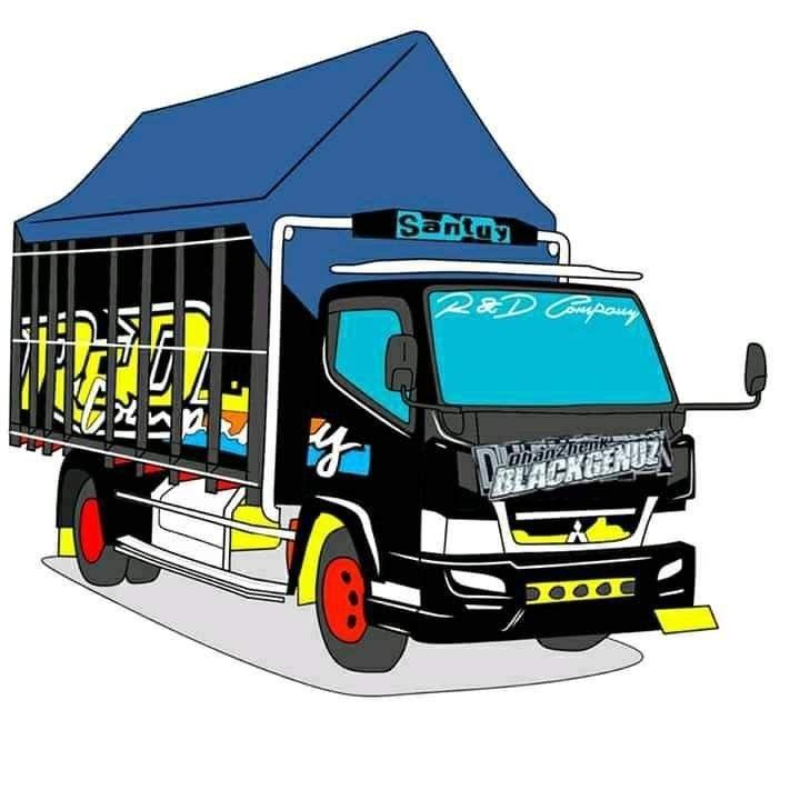 41+ Gambar truk canter modifikasi kartun ideas in 2021