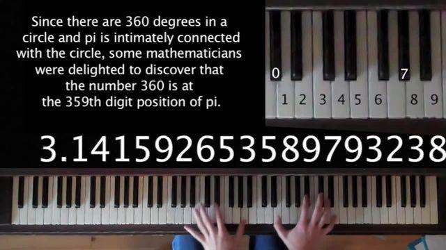 Song from π! ( как звучит число Pi )