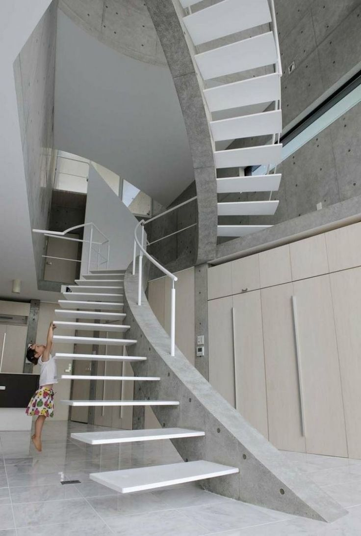 image result for escaleras concreto armado y vidrio ms
