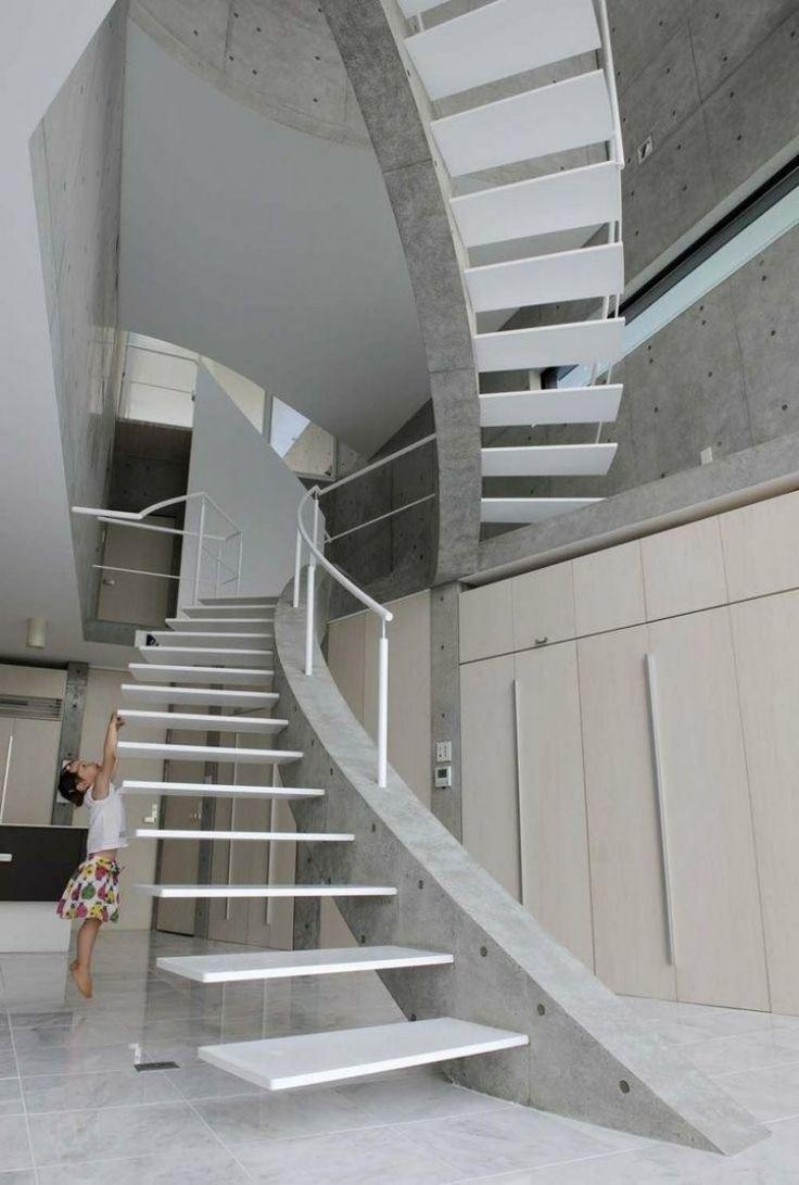 Image result for escaleras concreto armado y vidrio