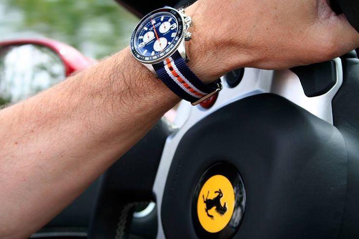 Cars and watches: the classic combination.