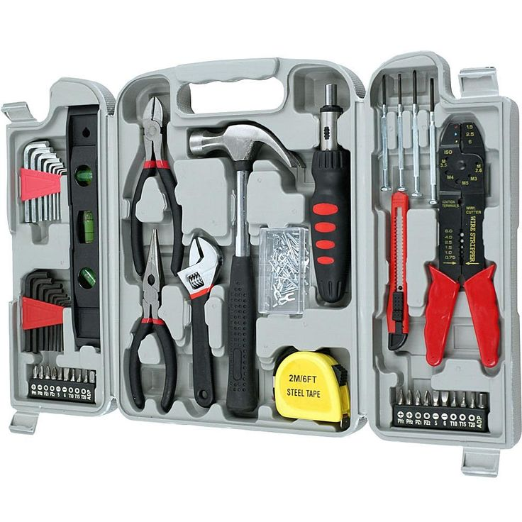 Trademark Global, Inc. 130-piece Hand Tool Set