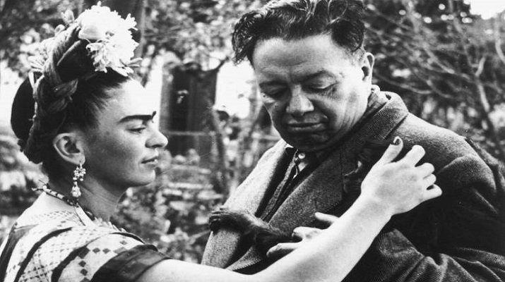 """Biliyor muydun ? /// Frida Kahlo'nun """"Başıma Gelen En Büyük Felaket"""" Dediği Kocası Diego Rivera'ya Yazdığı Aşk Mektupları"""