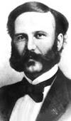 El fundador de la mayor organización humanitaria murió arruinado y en el olvido - Henri Dunant, hombre de negocios suizo.