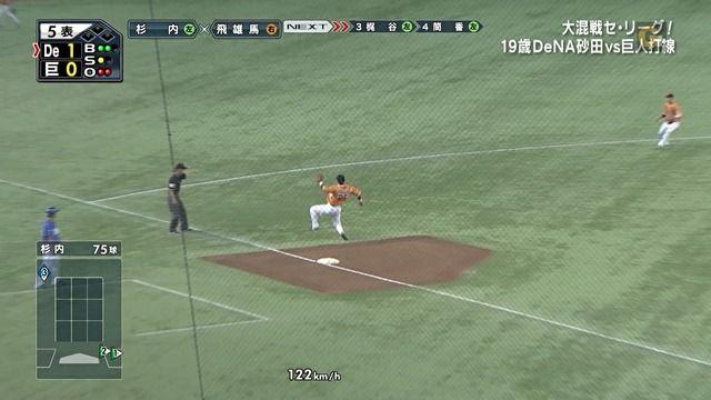 巨人・村田、FFのサボテンダーみたいになる