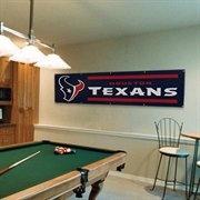 Houston Texans Navy Blue 8' x 2' Banner #Fanatics #UltimateTailgate