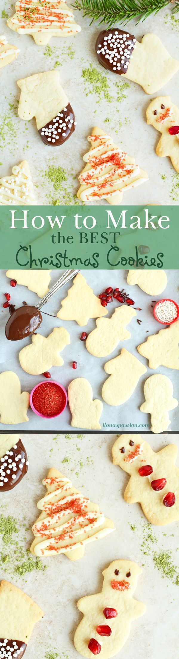 how to make christmas sugar cookies from scratch