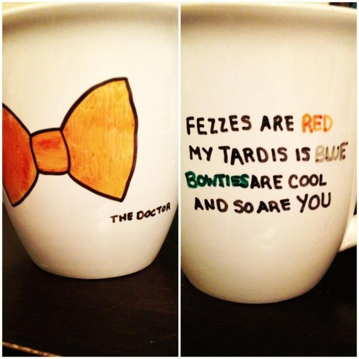 Doctor Who DIY mug | Diy gifts for friends, Diy doctor ...