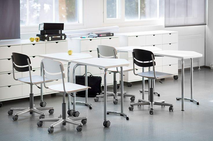 Summa-table, Mac-chair, Isku School
