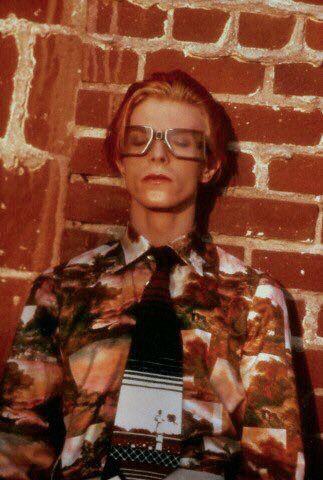 David Bowie 1975 by Steve Schapiro