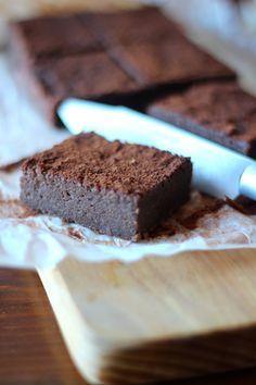 As Minhas Receitas: Brownie de Batata Doce