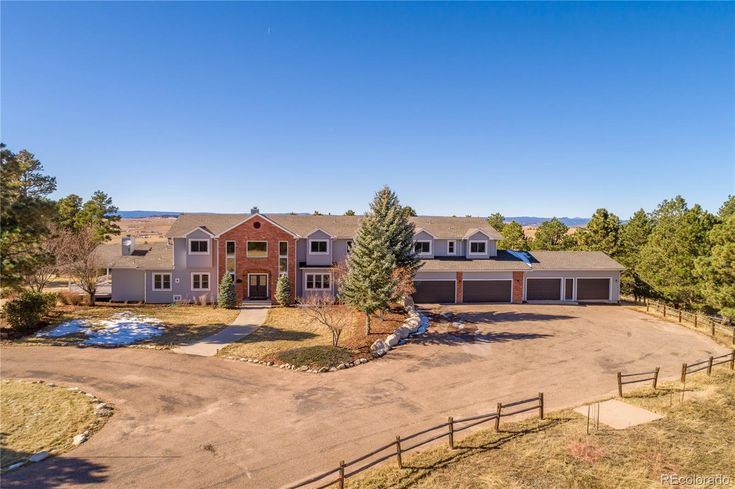 Glorious Colorado property features an expansive 11000+ sq ...