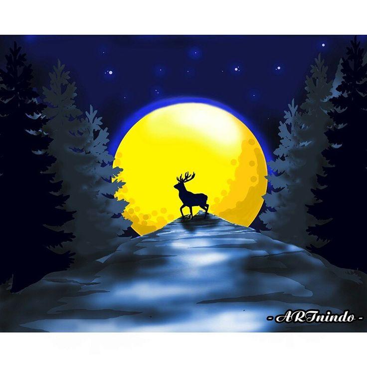 deer #illustration #graphic #design