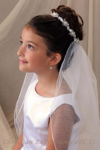 First Communion Hair Style