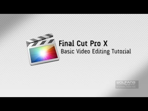 Learn Basic Editing on Apple Final Cut Pro X with These Free Tutorials | Creative Planet Network