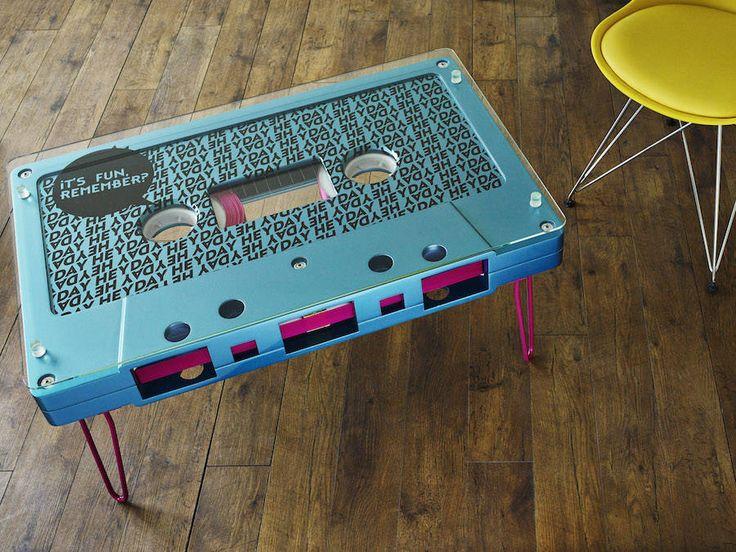 Giant Tape Coffee Tables – Fubiz Media
