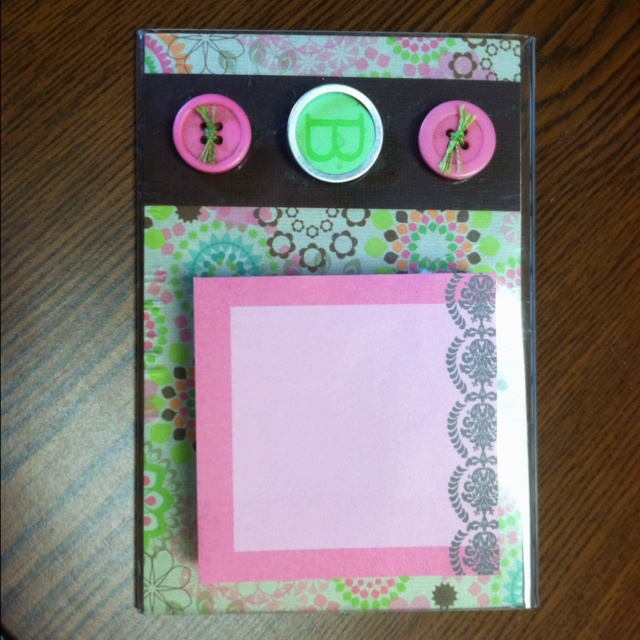 42 best sticky note crafts images on pinterest sticky for Sticky paper for crafts