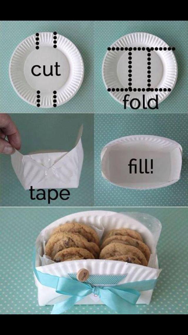 Oh, this is ridiculously adorable! Though I'd hole punch the sides and use brass fasteners. Because I'm obsessive. :o ) —Cookie Plate