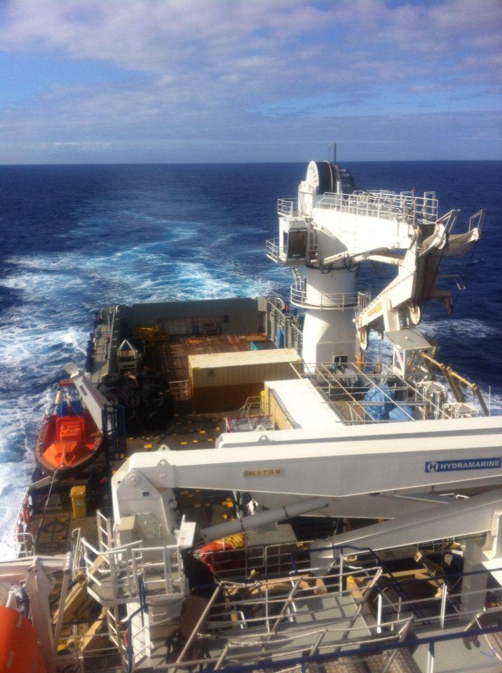 Left Kiwi on our 2 New Caledonia