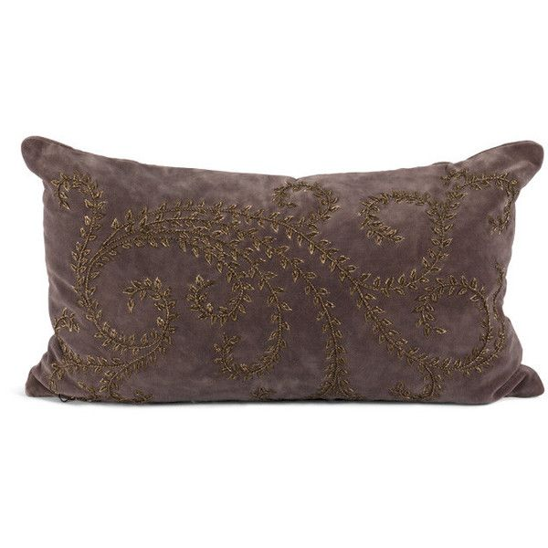 Luella Pillow design by Bliss Studio ($564) ❤ liked on Polyvore featuring home, home decor, throw pillows, pillows, european home decor, bliss studio and euro throw pillows