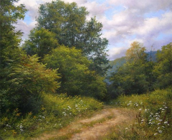 A Hint of Autumn by Andrew Orr  Bryan Memorial Gallery