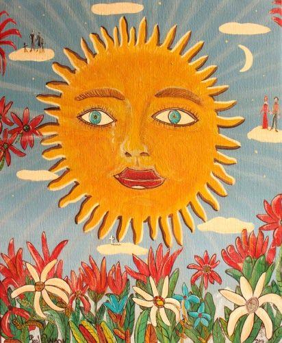 122 Best CBS Sunday Morning Sun Art Images On Pinterest