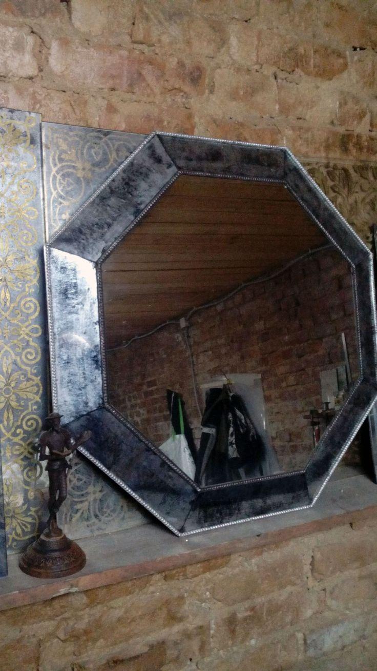 Винтажные состаренные зеркала ручной работы