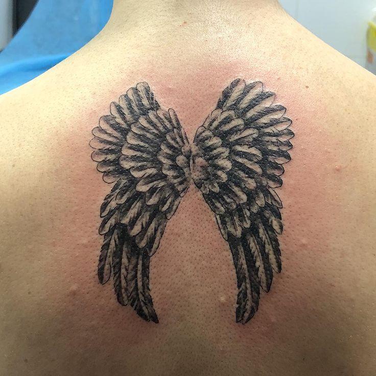 Tatuaje de alas realizado en nuestro centro de Montera  de Madrid.    #tattoo #tattoos #tattooed #tattooing #tattooist #tattooart #tattooshop #tattoolife #tattooartist #tattoodesign #tattooedgirls #tattoosketch #tattooideas #tattoooftheday #tattooer #tattoogirl #tattooink #tattoolove #tattootime #tattooflash #tattooedgirl #tattooedmen #tattooaddict#tattoostudio #tattoolover #tattoolovers #tattooedwomen#tattooedlife #tattoostyle #tatuajes #tatuajesmadrid #ink #inktober #inktattoo