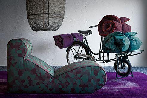 arflex - boborelax design Cini Boeri @Rubelli    #arflex #boborelax #ciniboeri #rubelli