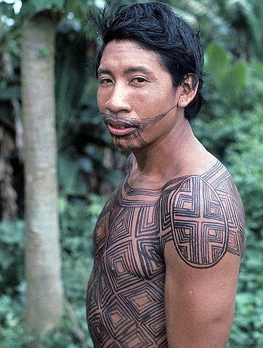 pintural corporal indígena