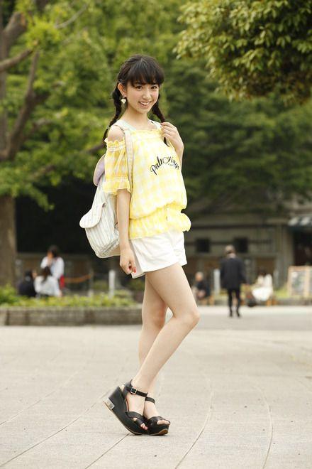 爽やか可愛い夏コーデ♪ ☆小学生ファッション スタイルの参考コーデ☆