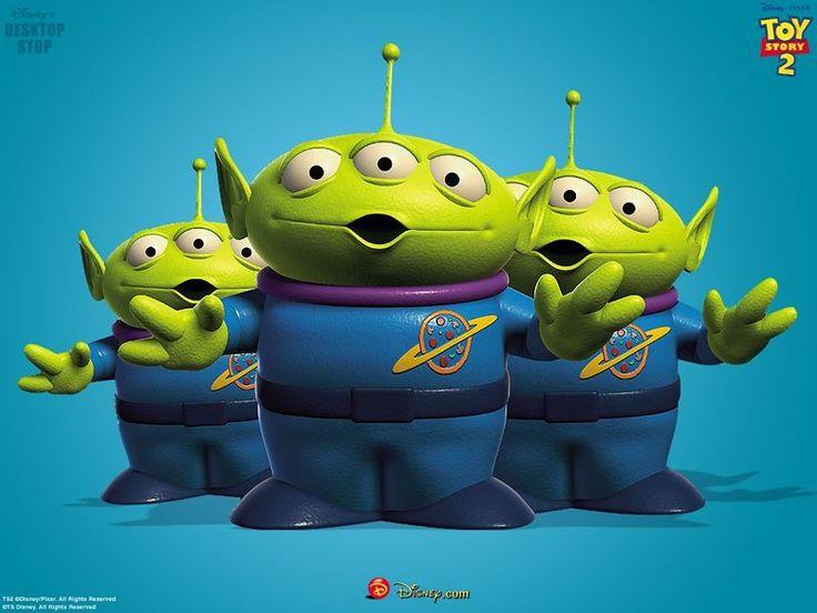 Aliens - Pixar Wiki - Disney Pixar Animation Studios