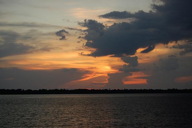 Amazon sunset, by adventuresinbrazil.com via Flickr.