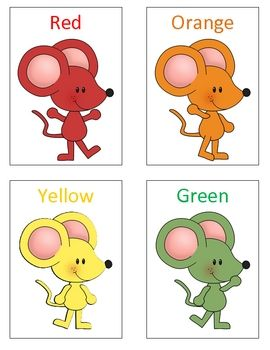 Here is a free sample from Kinderland Kapers  mini-unit Mouse Paint.  Students will love learning the color words with these adorable mice flash ca...