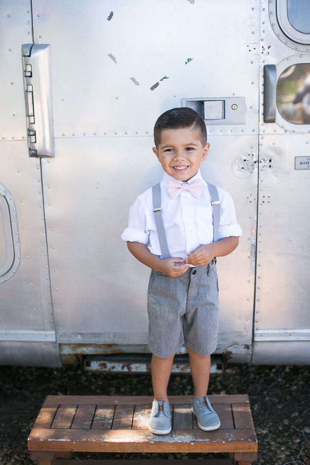 Handsome li'l ring bearer outfit with a bow tie | Kaysha Weiner Photographer | Pure Lavish Events