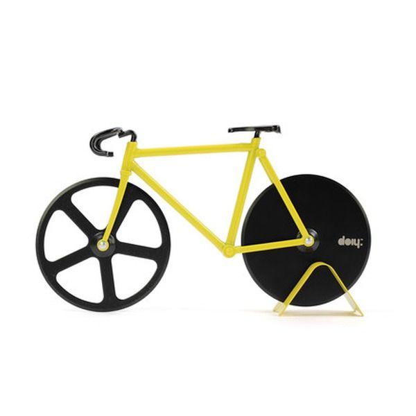 Pizzaschneider in Fahrradform, von Doiy