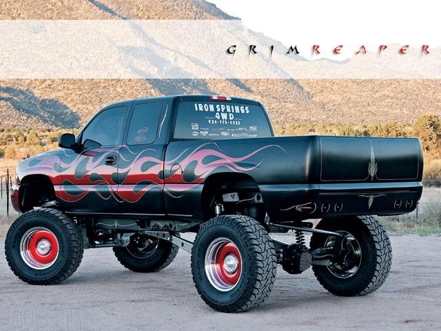 Truckin Feature Grim Reaper Chevy Truck Forum