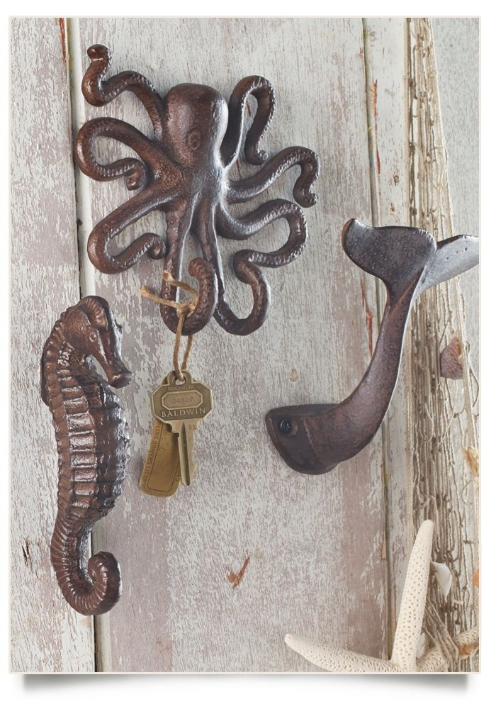 Octopus Wall Hook Sea Horse Wall Hook Whale Tail Wall