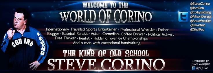 Steve Corino Website Banner.