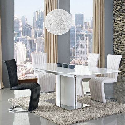 Look What I Found On Wayfair Modern Dining TableExtendable