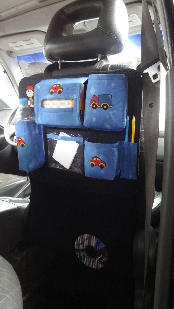 Organizador para carro de Shirley M Gava. www.facebook.com/organizadorparacarro