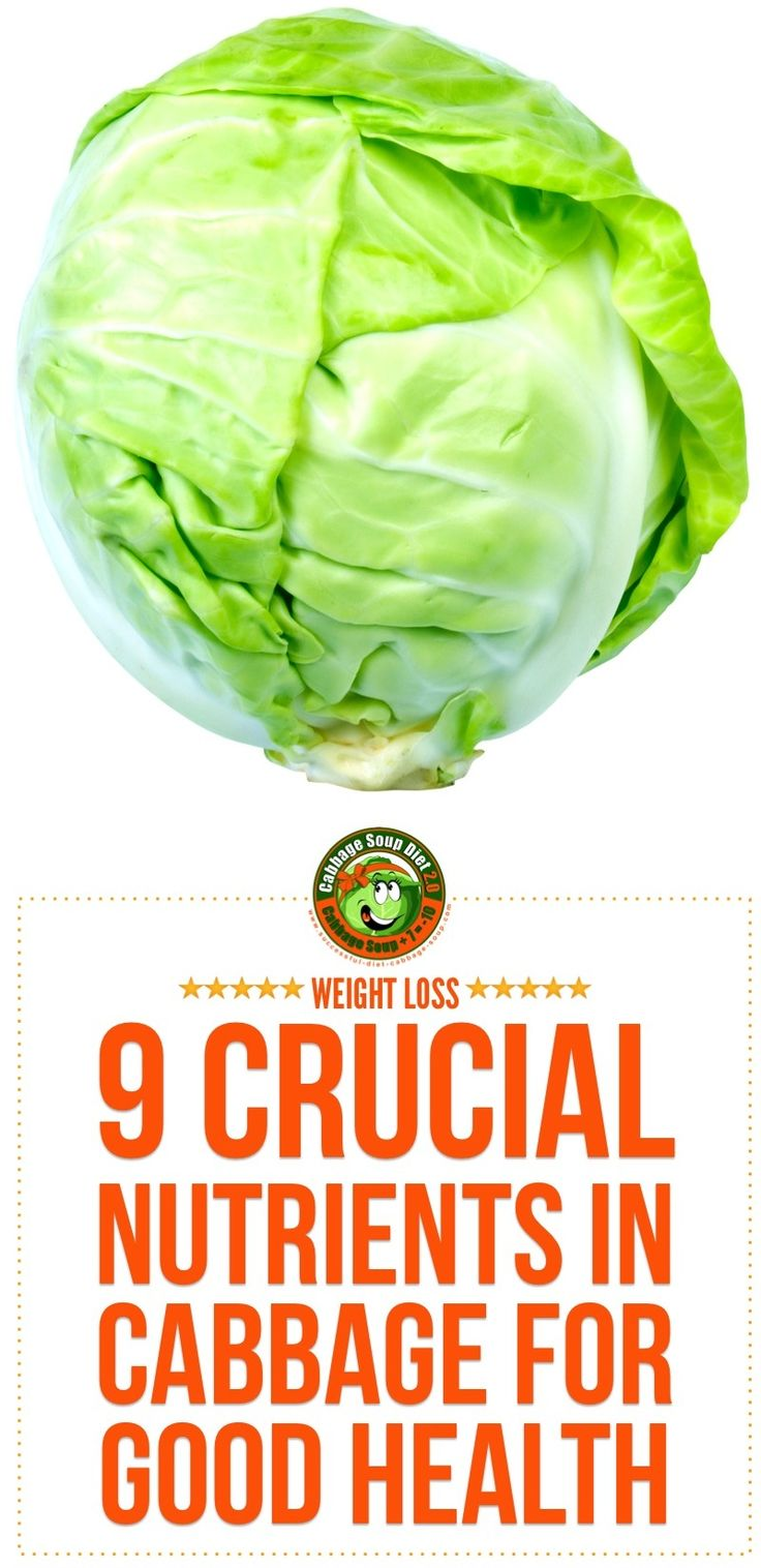 cabbage nutrition is not only valuable but includes also a high nutritional value and vitamine power - learn here why! Get here also access to the most delicious cabbage recipes.