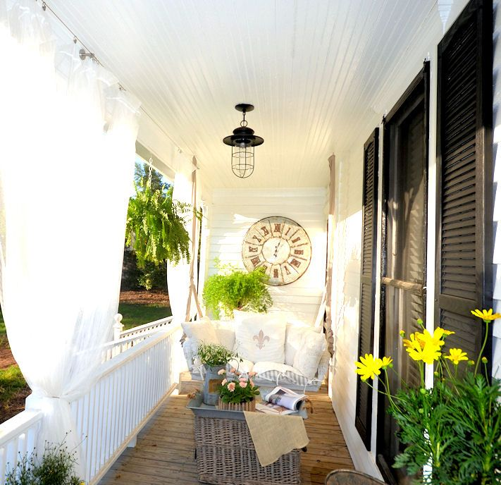 Front Porch Swings Farmhouse Exterior: 17+ Best Images About Porch Swing On Pinterest