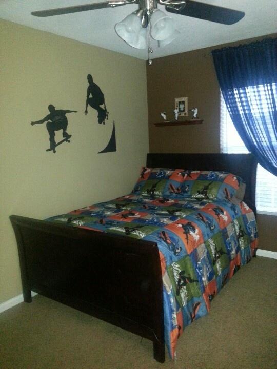 151 best ideas about Skateboarding room on Pinterest | Cool skateboards,  Teen boy rooms and Boy rooms